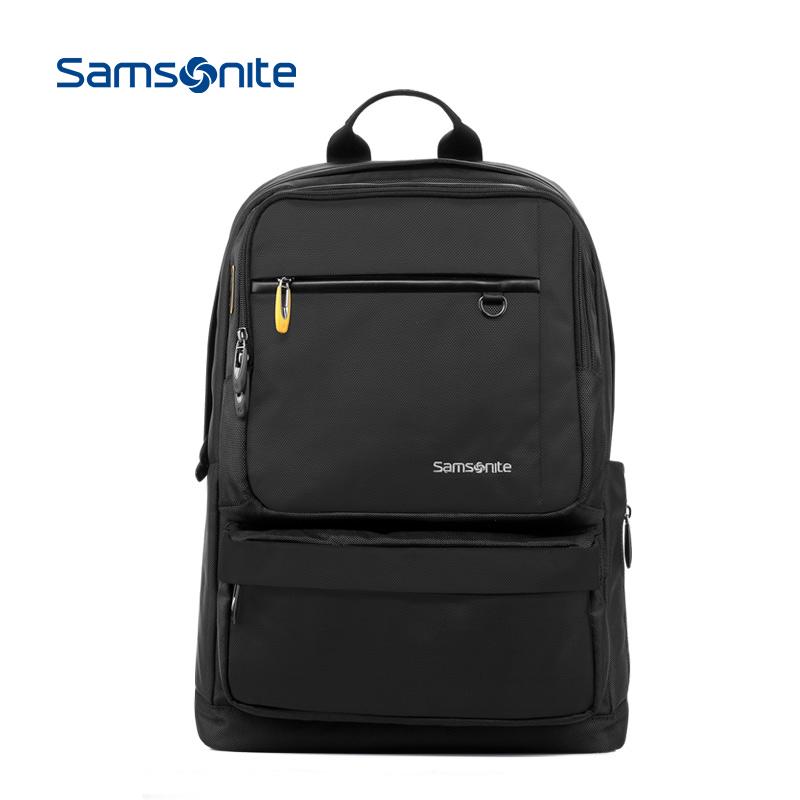 Samsonite/新秀麗時尚休閒雙肩包男女揹包電腦包商務揹包36B