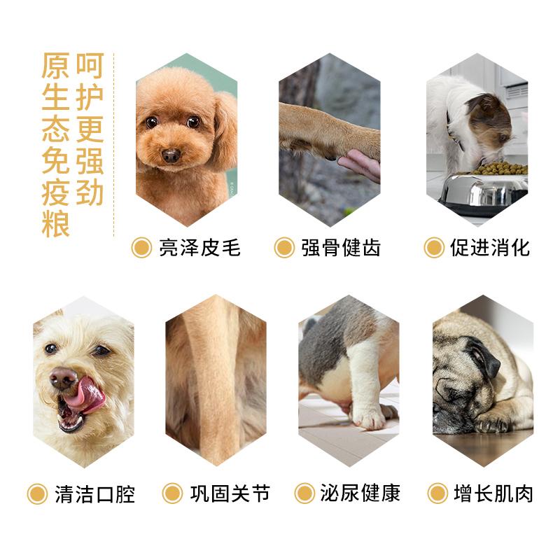 狼部落狗粮 2.5公斤kg贵宾泰迪成犬幼犬专用粮全犬期通用型优惠券
