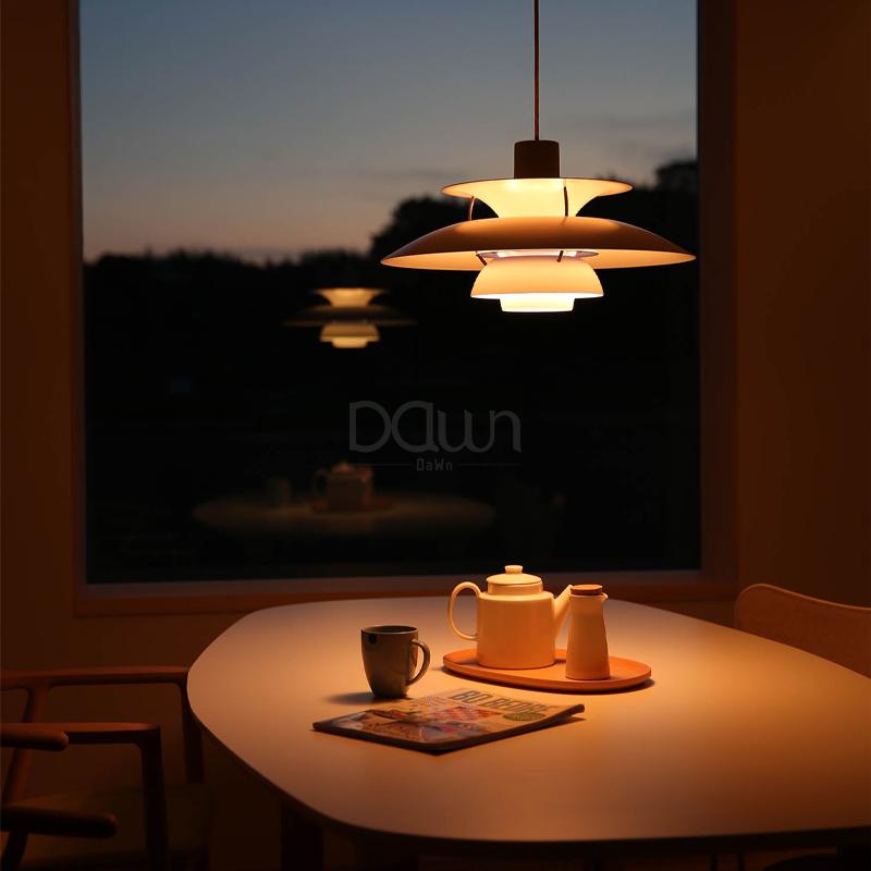 H5餐厅创意个性软装展厅吊灯