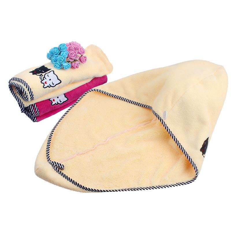 干发帽女吸水速干洗头发毛巾超强干发巾可爱加厚神器包头巾浴帽擦