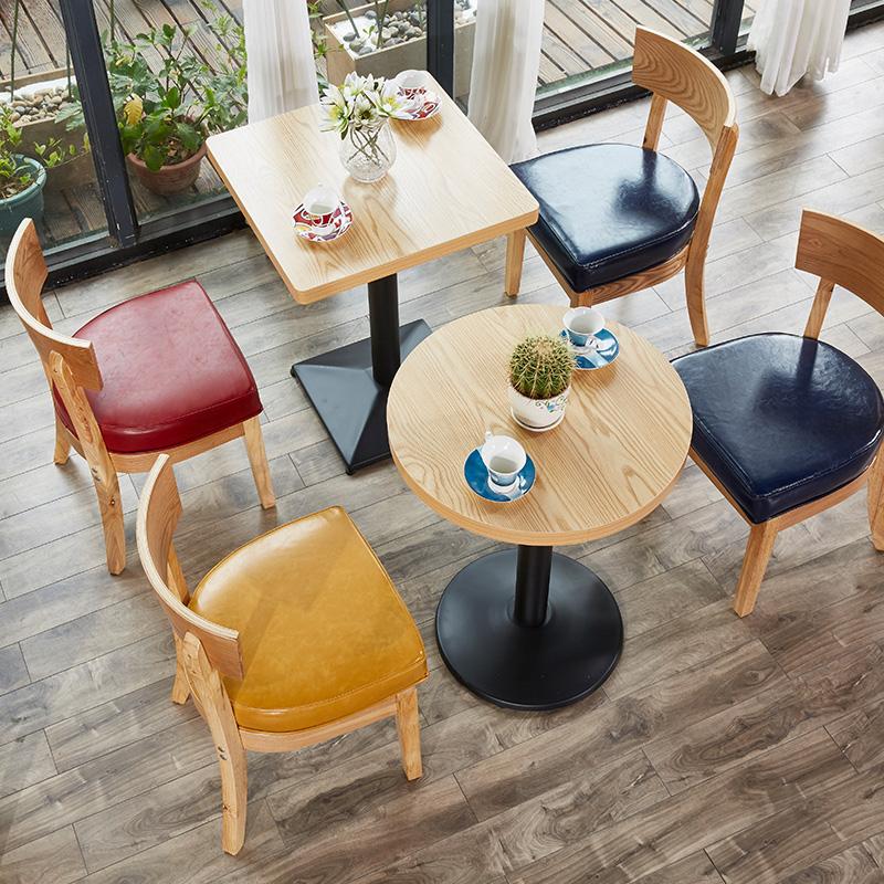 约益禾堂实木桌椅组合