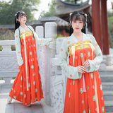 xj original traditional Chinese clothing female chest jacket skirt Xian Qi Han embroidery element elegant antiquity daily loading F0442093