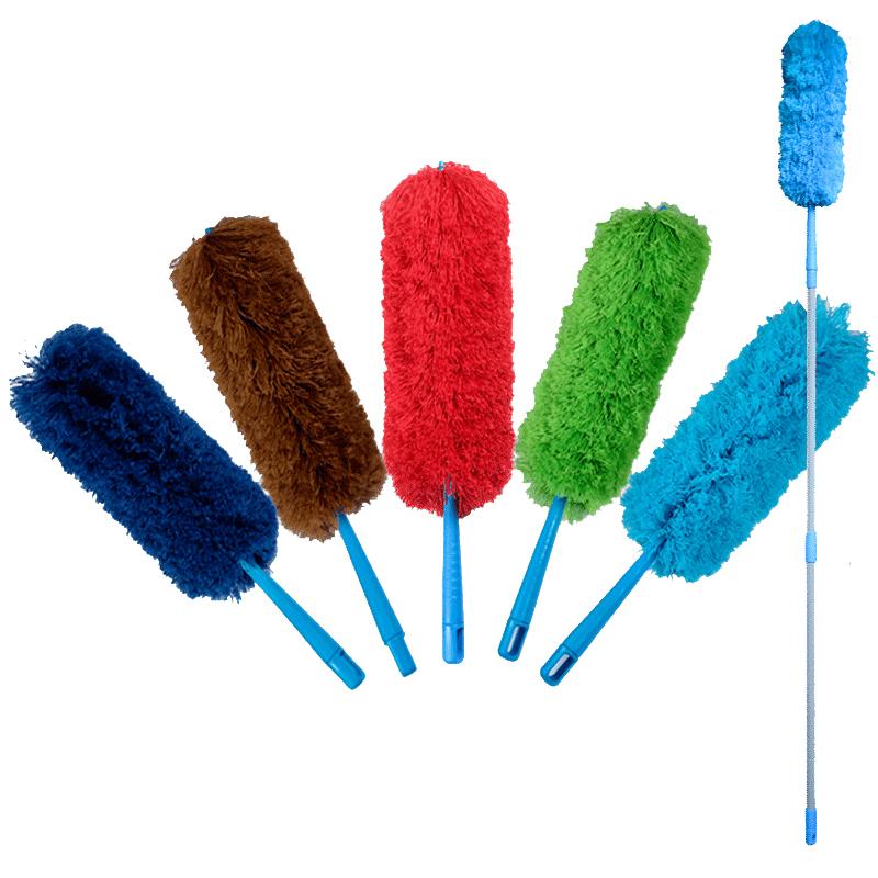 鸡毛掸子除尘家用可伸缩禅子打扫卫生工具扫灰毯子不掉毛除尘掸子
