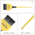 Hair dyeing brushes, fur hair, barbershops, hairdressing tools, combs, hair salons, dyeing professional brushes, special high-end