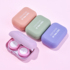 Take 1 shot 4] Contact lens case female cute simple cartoon companion multiple pairs of US-pupil shadow-shaped double care box
