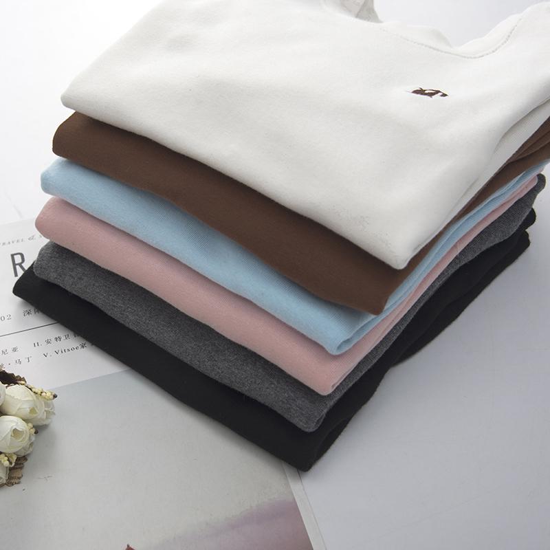 儿童纯棉白色打底衫谁穿谁好看