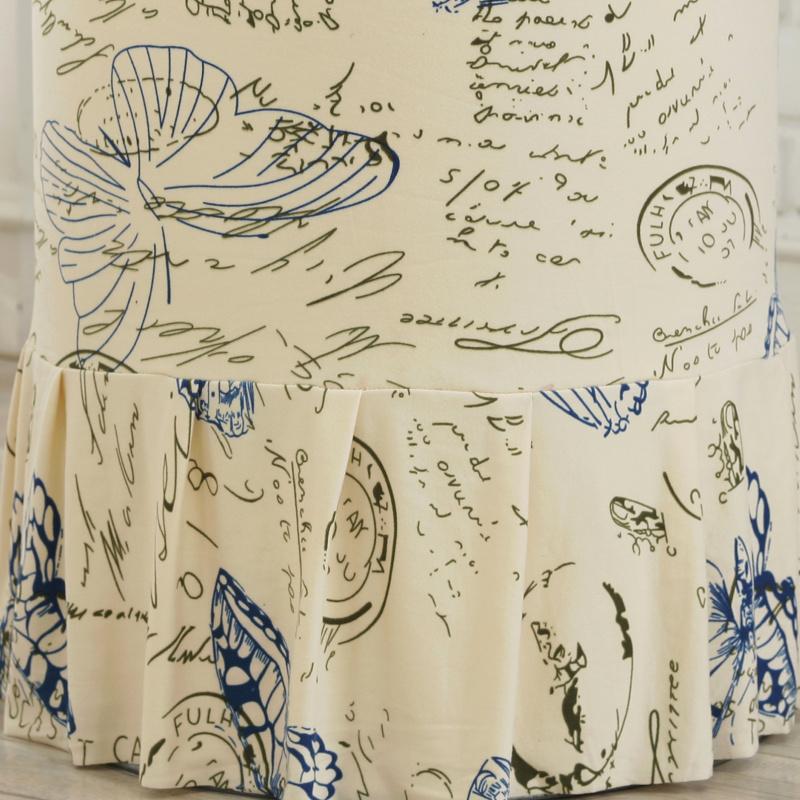 清新现代简约圆柱形立式空调防尘罩家用柜式空调罩套圆桶柜机全包