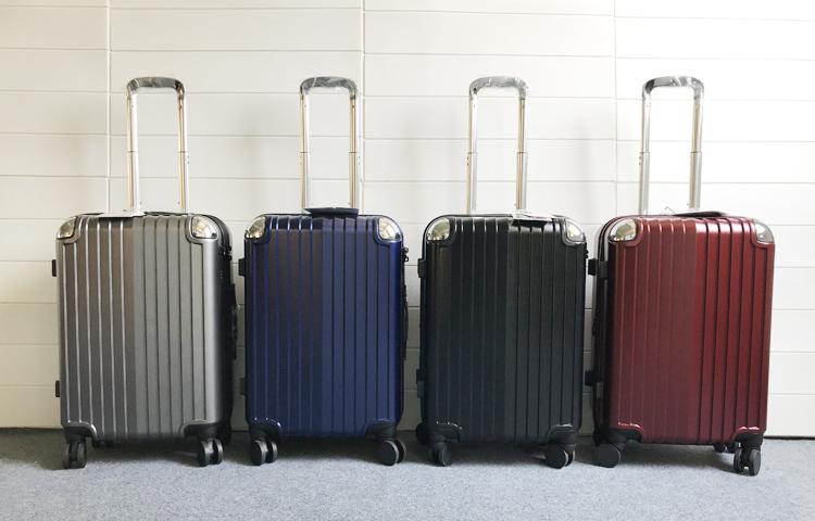 旅行箱学生行李箱男女 ins 拉杆箱大容量耐摔拉链箱网红 PC 出口日本