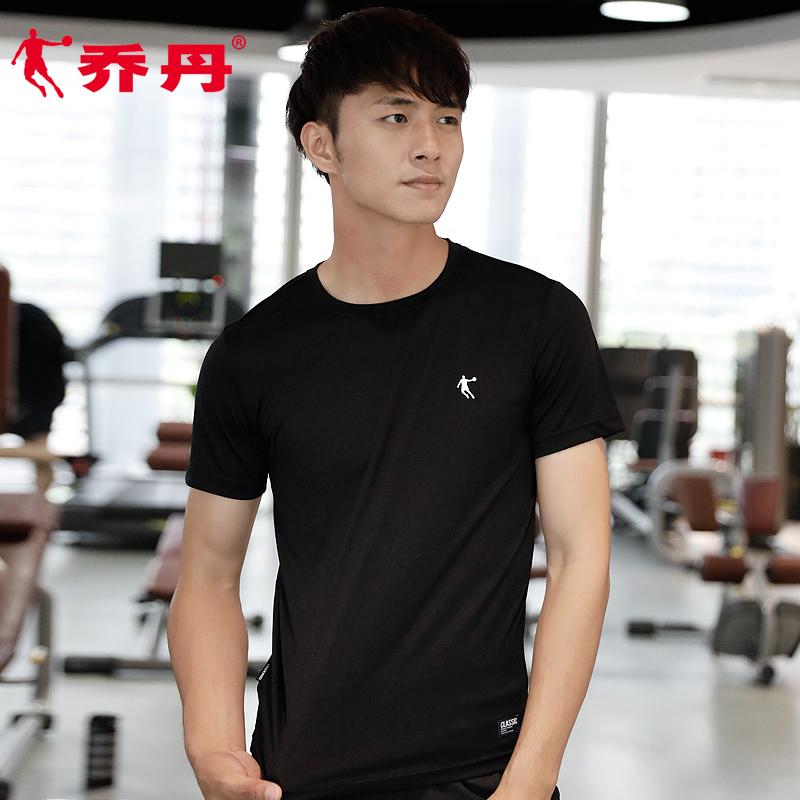 乔丹短袖男t恤2019夏季新款跑步运动t恤男速干薄款健身运动短袖男