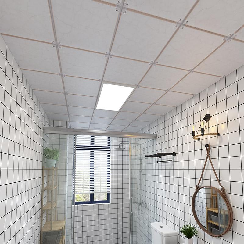 集成吊顶铝扣板全国包安装电器扣板套餐送入户厨房卫生间吊顶材料