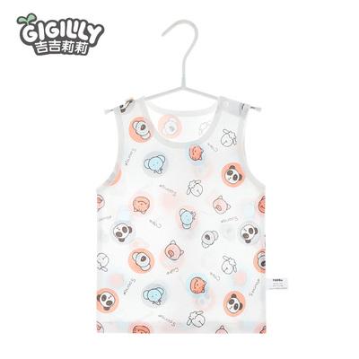 宝宝护肚小背心新生婴儿幼儿小童薄款吊带儿童打底夏季男童女夏装