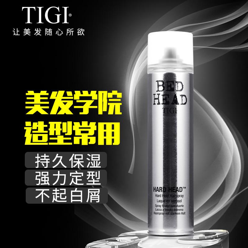 进口tigi发胶喷雾定型男女士强力清香头发蓬松造型啫喱水太空干胶