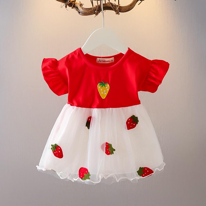 女童连衣裙夏装2021年新款夏天夏季女宝宝小童婴儿小裙子洋气公主