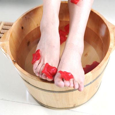 蜀道香实木香柏木泡脚木桶足沐浴桶盆洗脚盆泡脚桶带盖加厚家用