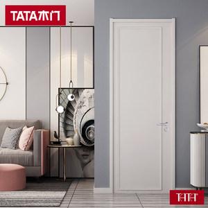 TATA木门 简约室内木门家用卧室房门定制客厅厨房门ZX055