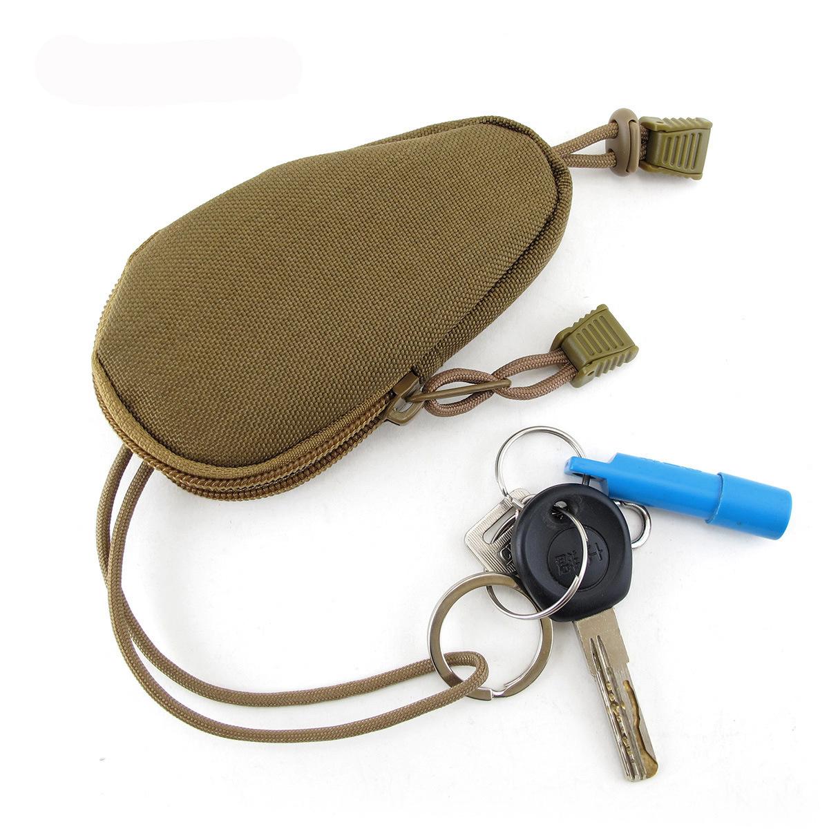 户外特价军迷钥匙包户外EDC工具通勤装备包迷彩战术附件包零