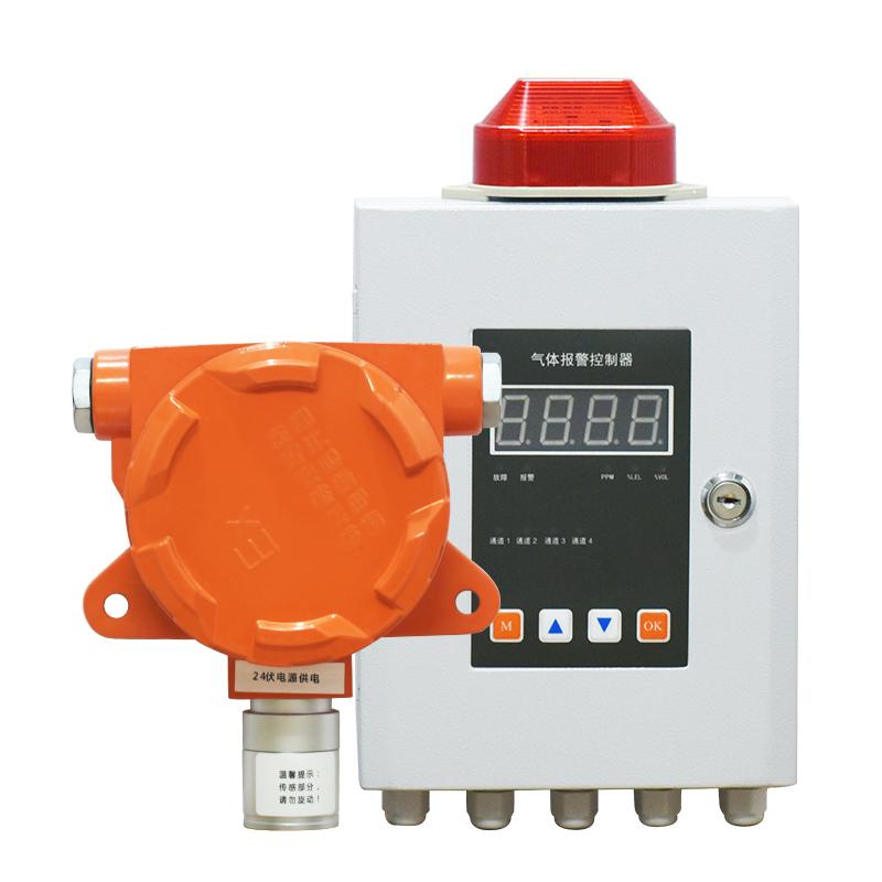固定式工业可燃气体浓度泄漏报警器检测仪坤厂饭店油漆房探测器