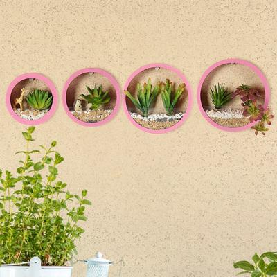 可水培  创意客厅房间装饰品仿真绿植物挂墙面上墙壁装饰挂件花盆