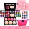 正品化妆粉盒彩妆盘39色彩妆套装全套组合 粉饼眼影美妆珠光包邮
