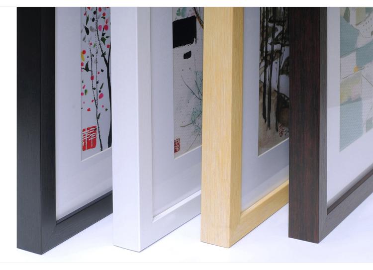水墨畫蘭花現代中式裝飾畫客廳有框畫餐廳掛畫酒店飯店國畫墻壁畫
