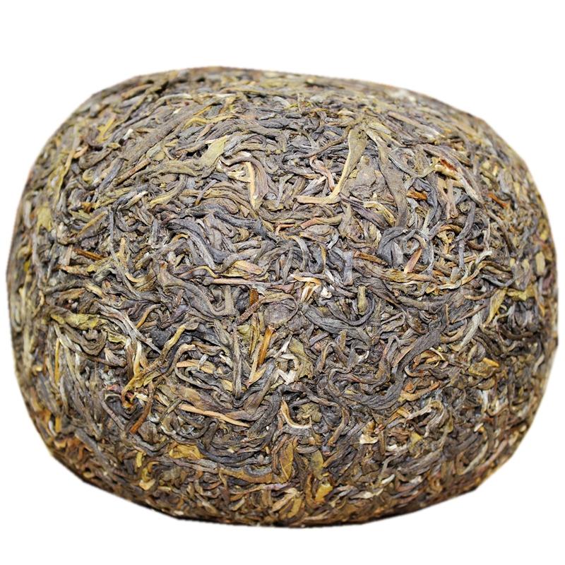 只赚销量信誉 克金瓜贡茶美人头 1000 普洱茶生茶 易武老树茶