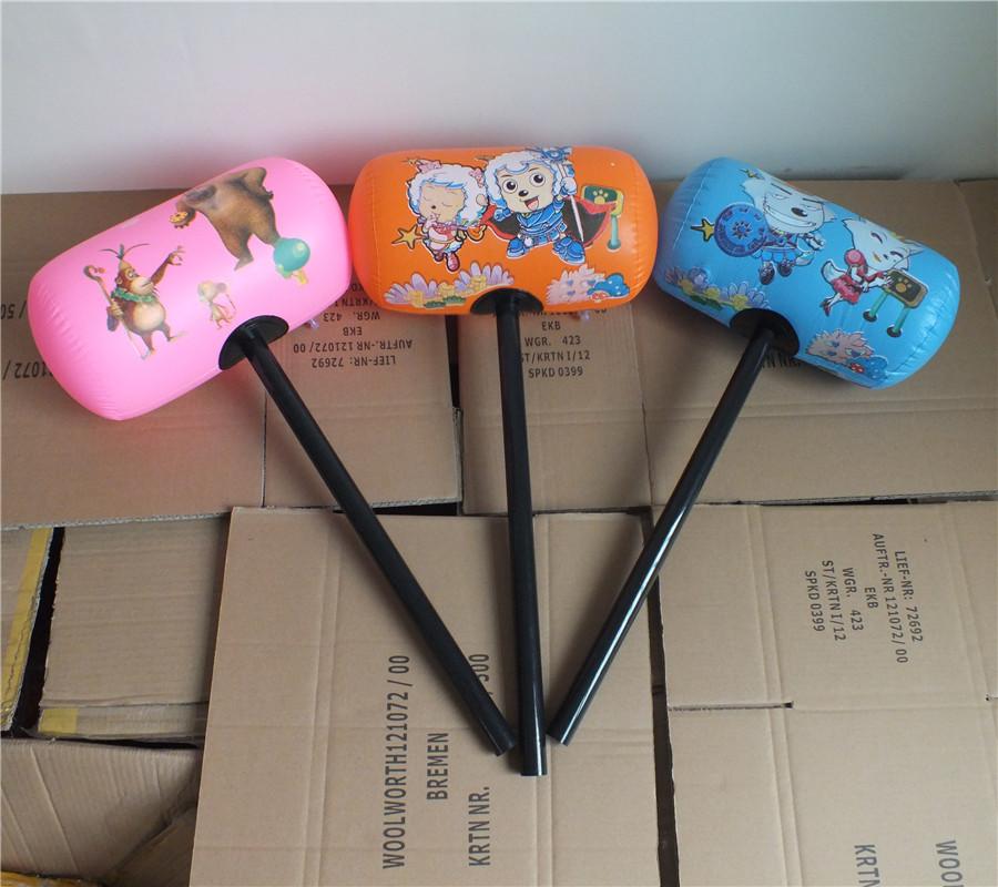 大号硬柄锤 儿童玩具 充气锤子 大号千吨锤充气玩具地摊玩具定制