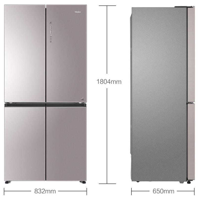 大容量变频风冷无霜十字对开门冰箱超薄新 471WDCD BCD 海尔 Haier