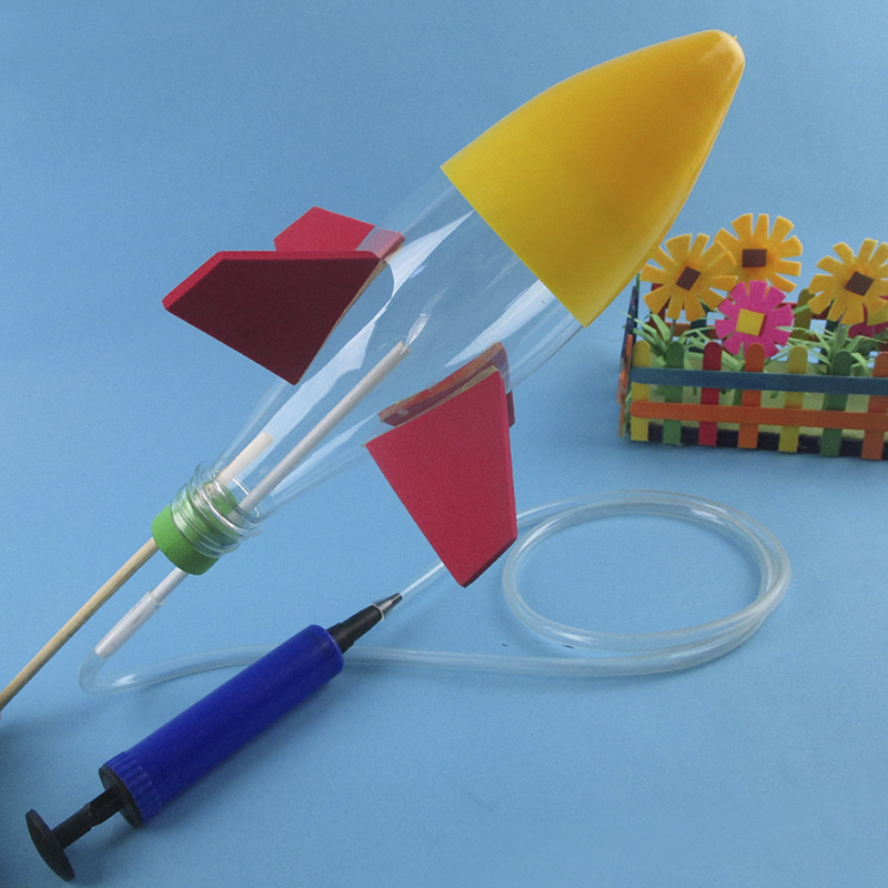 水火箭发射器儿童科技小制作全套材料小学生科学实验玩具弹射套装