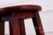 实木吧椅 黑色巴凳梯凳实木高脚吧凳 实木凳子复古酒吧椅时尚简约