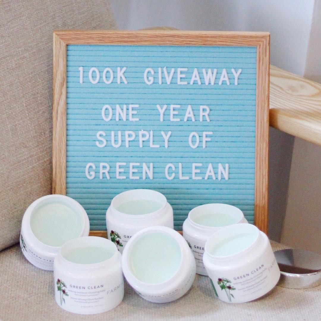 Green  90ml 紫錐菊深層清潔卸妝膏 愛到天荒地老 Farmacy Clean