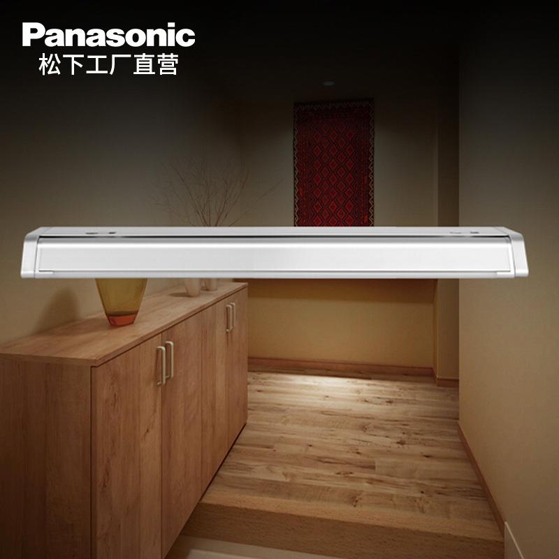松下橱柜感应灯柜底灯led厨房吊柜灯衣柜人体感应灯吊柜底板灯