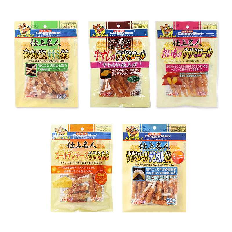 日本多格漫名仕绕肉零食狗狗磨牙绕肉零食饼干零食354g