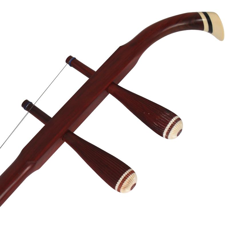 敦煌乐器专卖店 科特迪瓦小叶紫檀木轸二胡 07AA 敦煌牌二胡