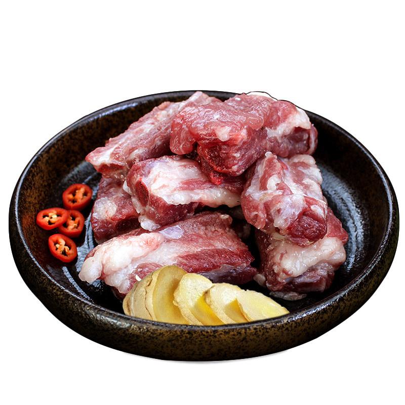 黑猪肉小排骨新鲜 猪肋排2斤猪排骨农家散养土猪肉五花肉现杀包邮