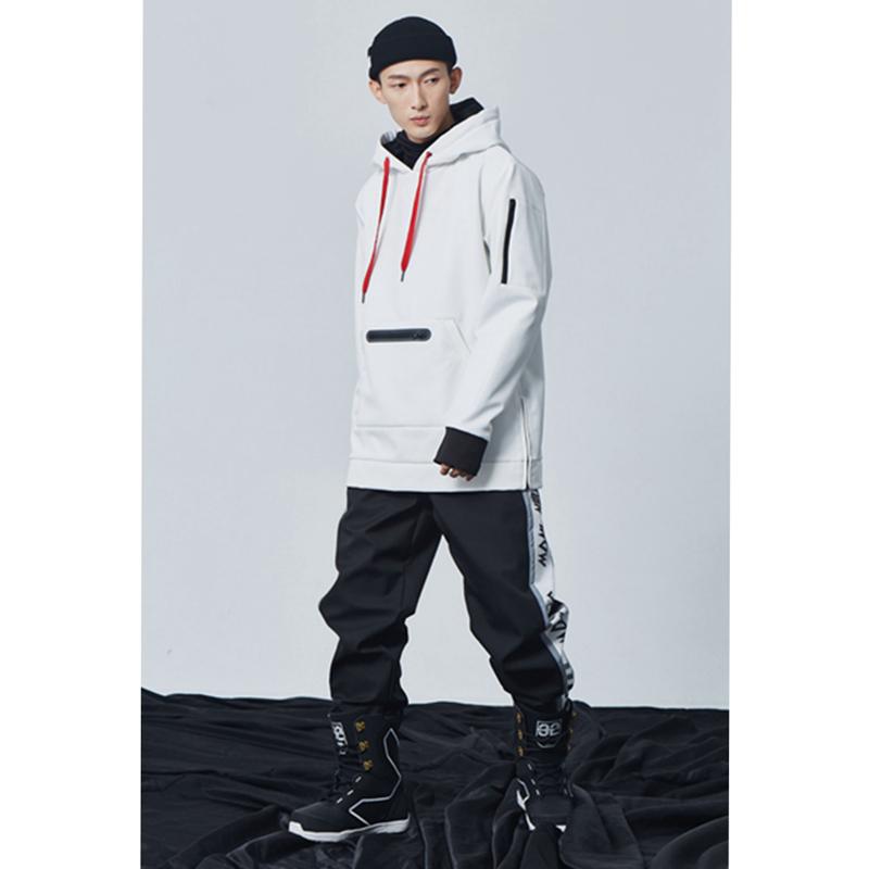 John 男女束收腿单双板软壳小脚滑雪裤防水加绒耐磨透气韩国  Snow