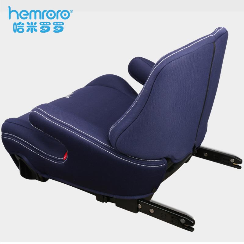 接口 isofix 岁宝宝汽车用简易便携车载坐垫 12 3 儿童安全座椅增高垫