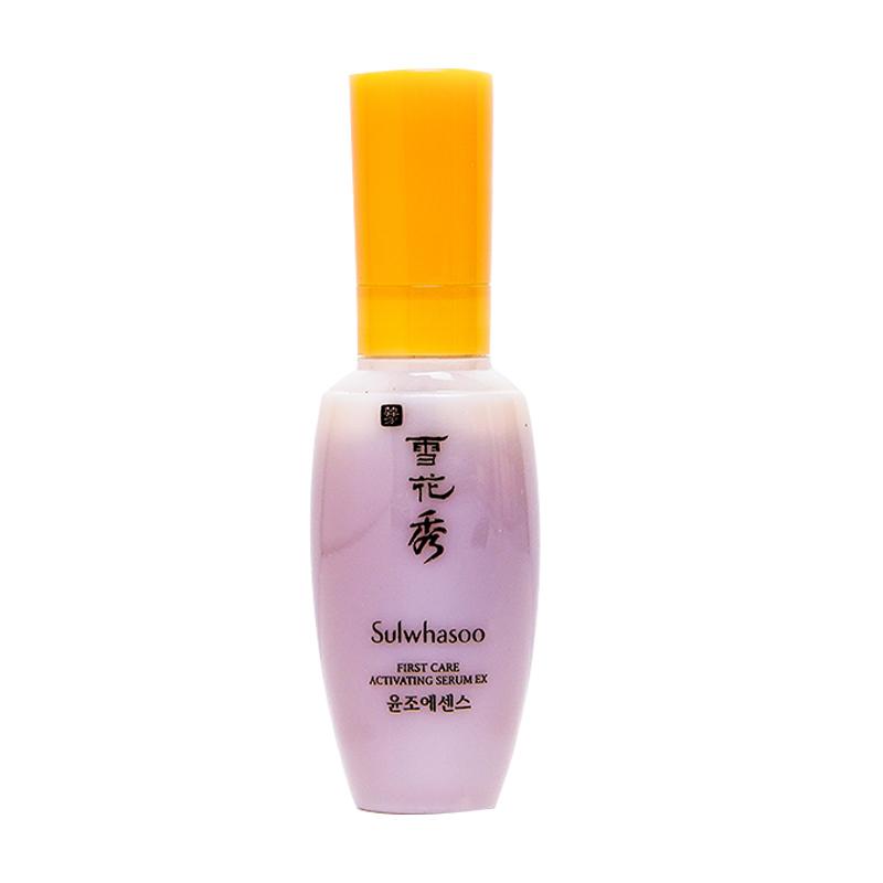 正品韩国雪花秀润燥精华液肌底液 小样润致焕活肌底精华露中样  8ML