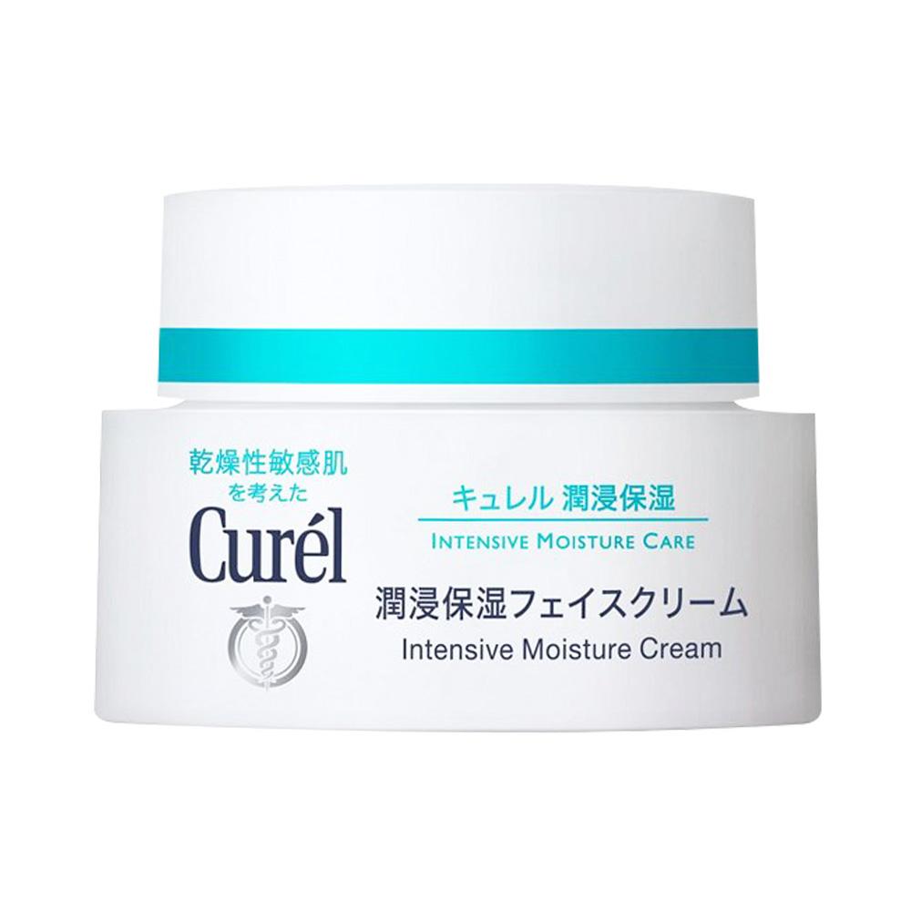 日本花王Curel珂润进口面霜保湿乳霜 深层滋养 40g