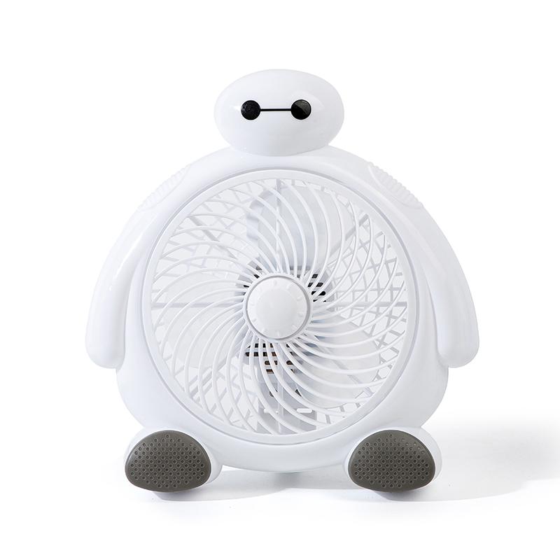 小型卡通电风扇迷你学生宿舍床上静音便携式床头办公室桌面小风扇