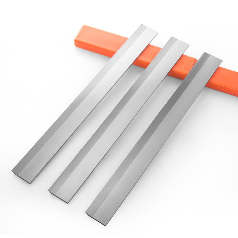 410/610镶10mm钨钢刨刀特硬TCT木工刨刀贴硬质合金平刨压刨刀片