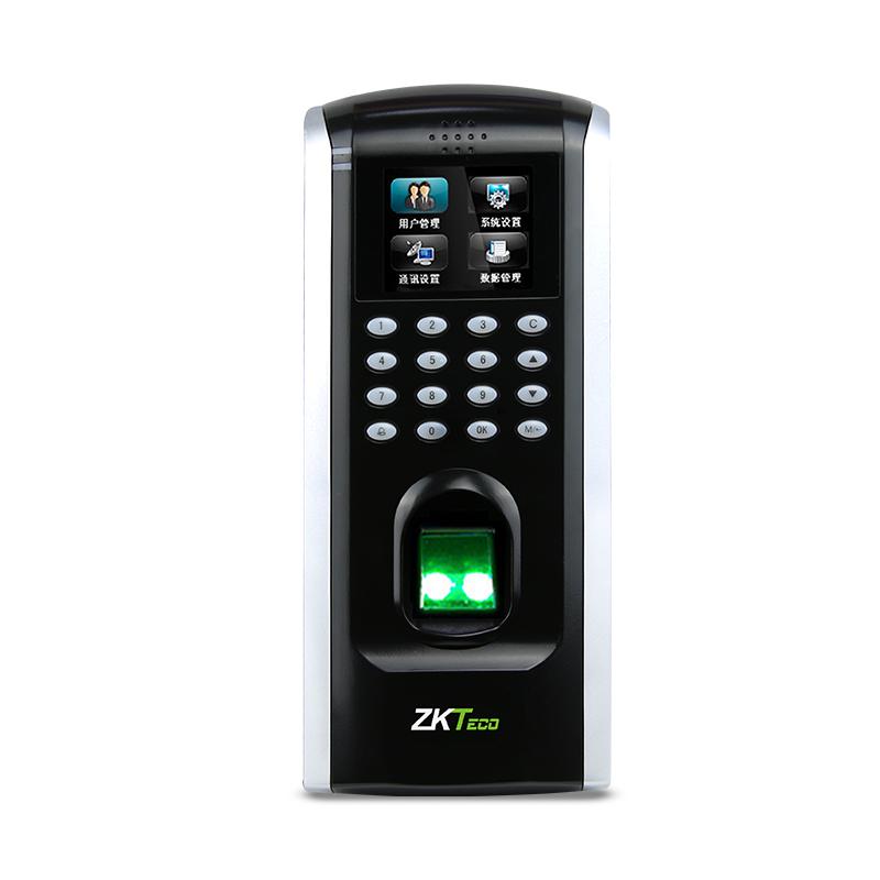 ZKTeco/中控智慧F7plus指纹识别密码门禁考勤一体机刷卡机网络打卡签到器双门木门铁门玻璃门门禁系统套装
