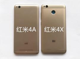红米4X/4A屏幕总成带框 Redmi4X/4A手机原装触摸显示内外一体屏幕
