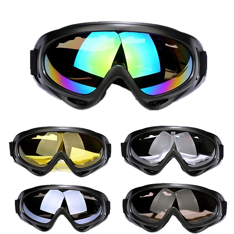 防弹护目镜骑行滑雪防风防护眼镜 CS 战术风镜军迷户外运动真人 X400