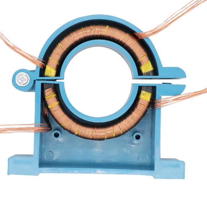 开口式电流互感器电表三相开合开口50/5 100/5 150/500/5 0.50.2s