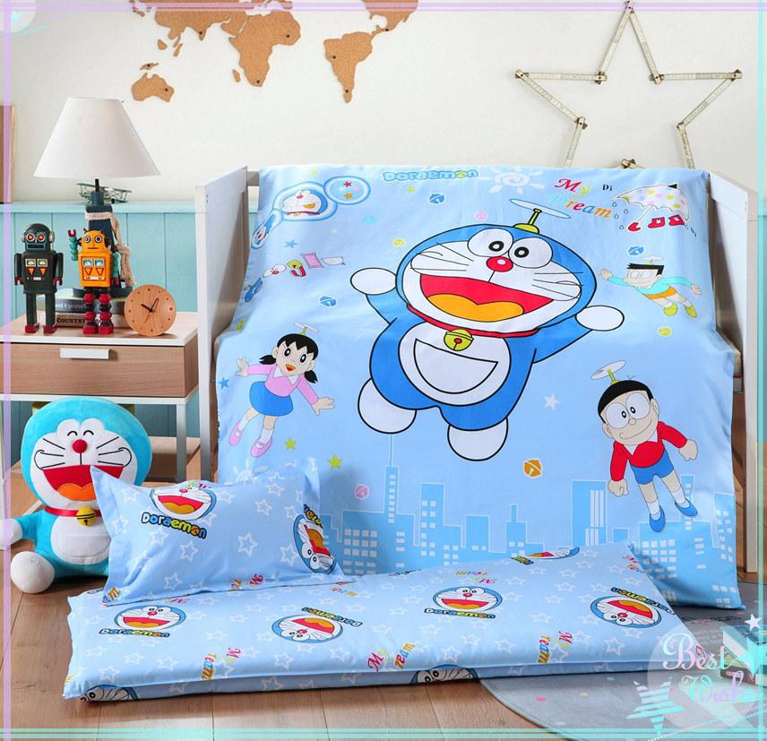 幼儿园被子三件套含芯纯棉儿童被六件套宝宝午睡被子卡通棉花被子