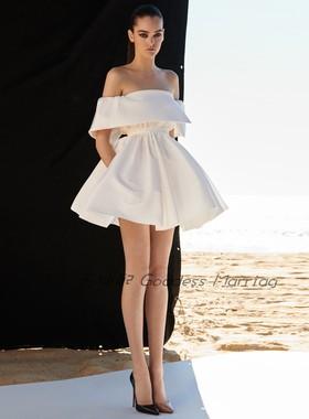 短款小礼服时尚2021新款个性网红生日晚礼服名媛派对晚宴连衣裙女