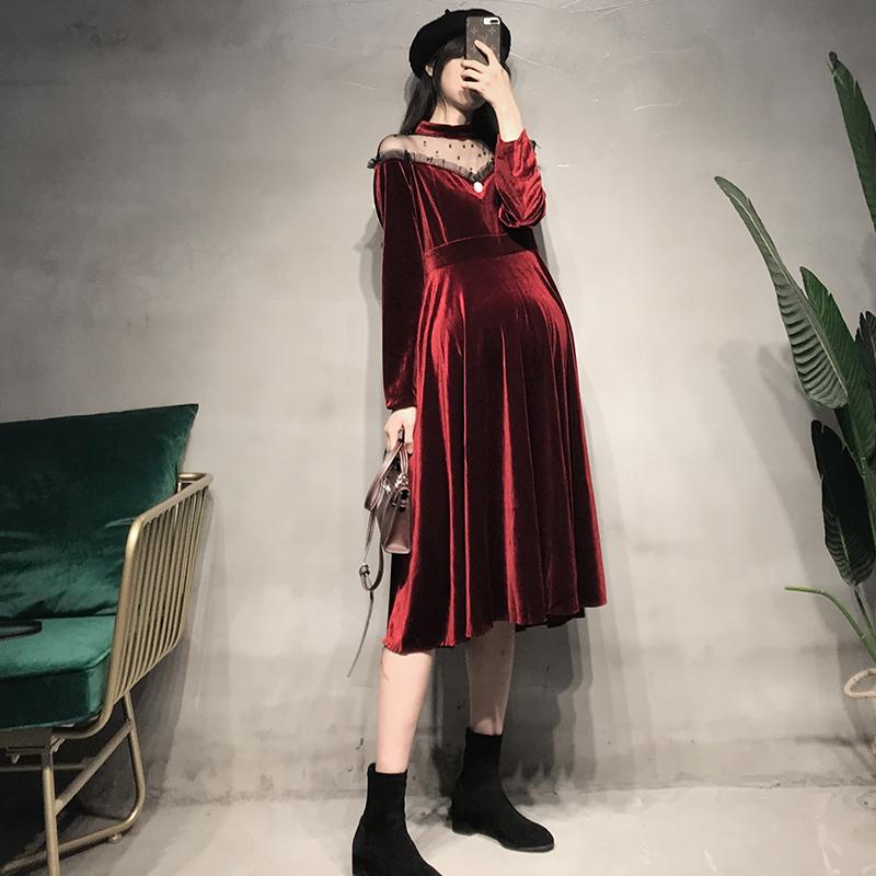 敬酒服新娘红色礼服裙