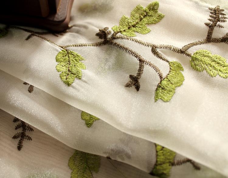 美式乡村亚麻窗帘北欧简约现代 文艺卧室客厅日系遮光 成品窗纱帘