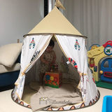 Children's tent small Indian child playroom yurt tent boys and girls round cubby house