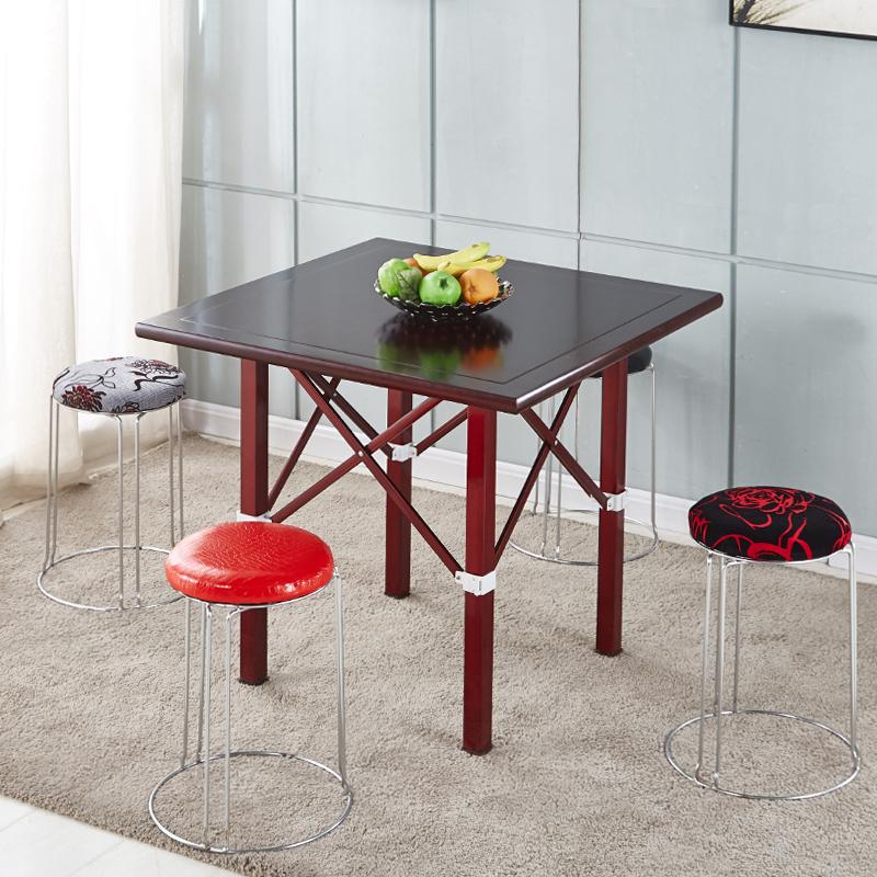 简易棋牌桌将桌折叠桌两用桌宿舍寝室打牌桌方桌家用手搓麻将桌象